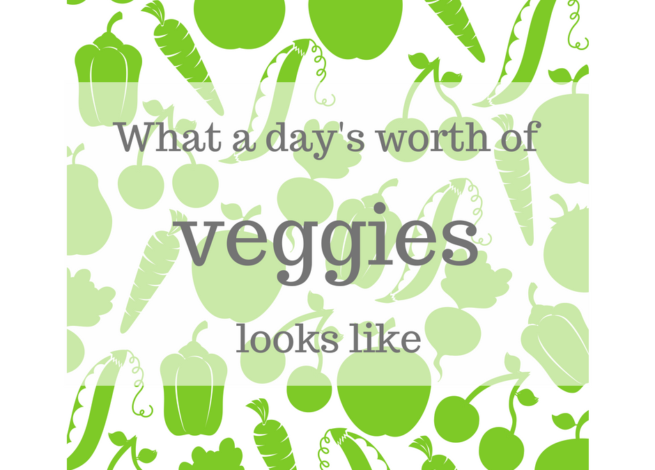 A Day's Worth of Veggies