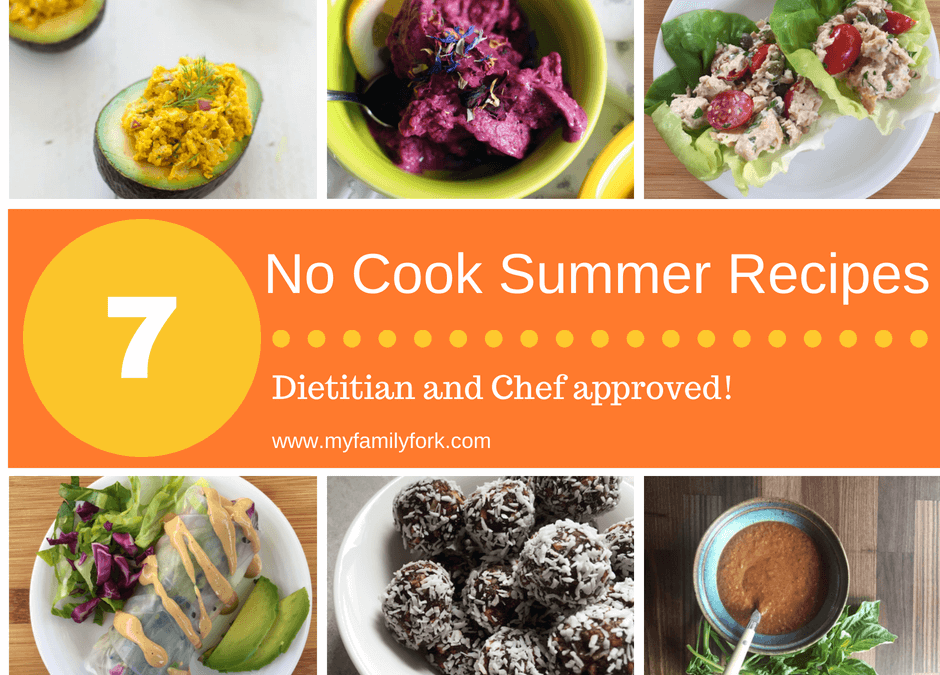 No Cook Recipes for Summer