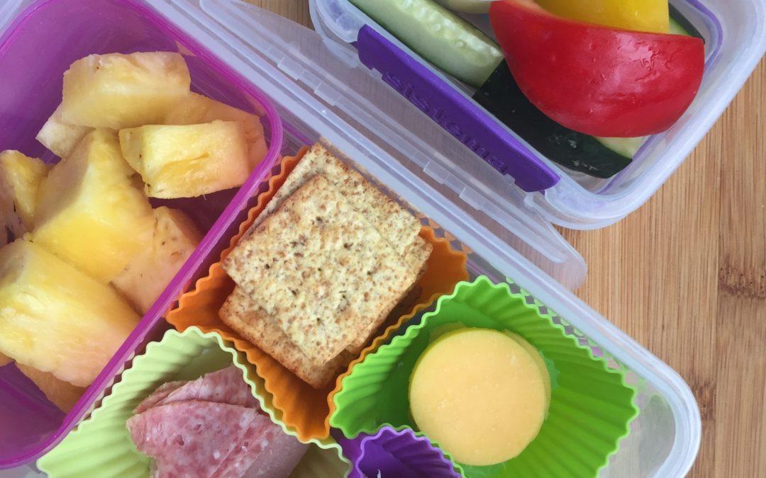 Six Weeks of Healthy Lunch Ideas