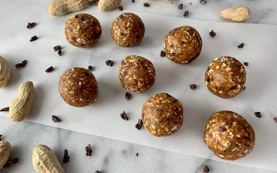 Peanut Power Balls