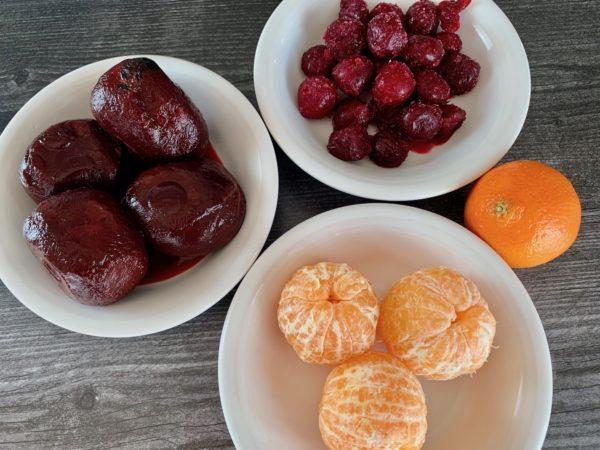 beets, mandarin, cherries, smoothie, beet smoothie, easy smoothie