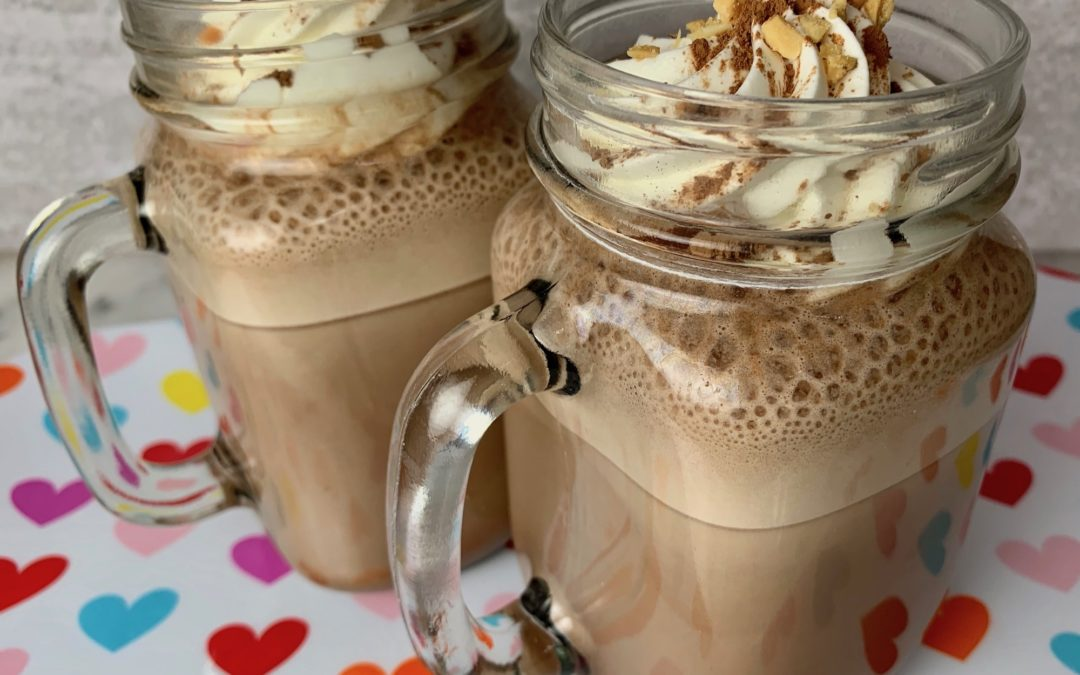 High Protein Peanut Butter Hot Chocolate