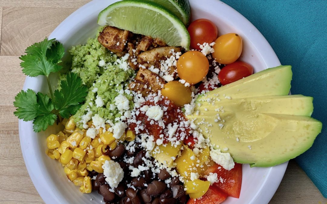 Build-Your-Own Burrito Bowls
