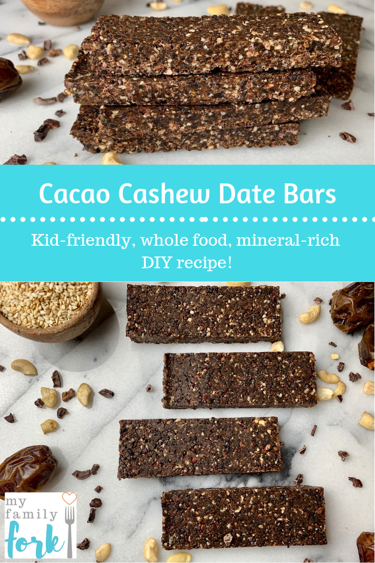 Cacao cashew date bars Energy bars recipe No bake energy bars Homemade energy bars recipes Homemade energy bars no bake Homemade energy bars for runners Gluten free Grain free raw Vegan vegetarian Plant based